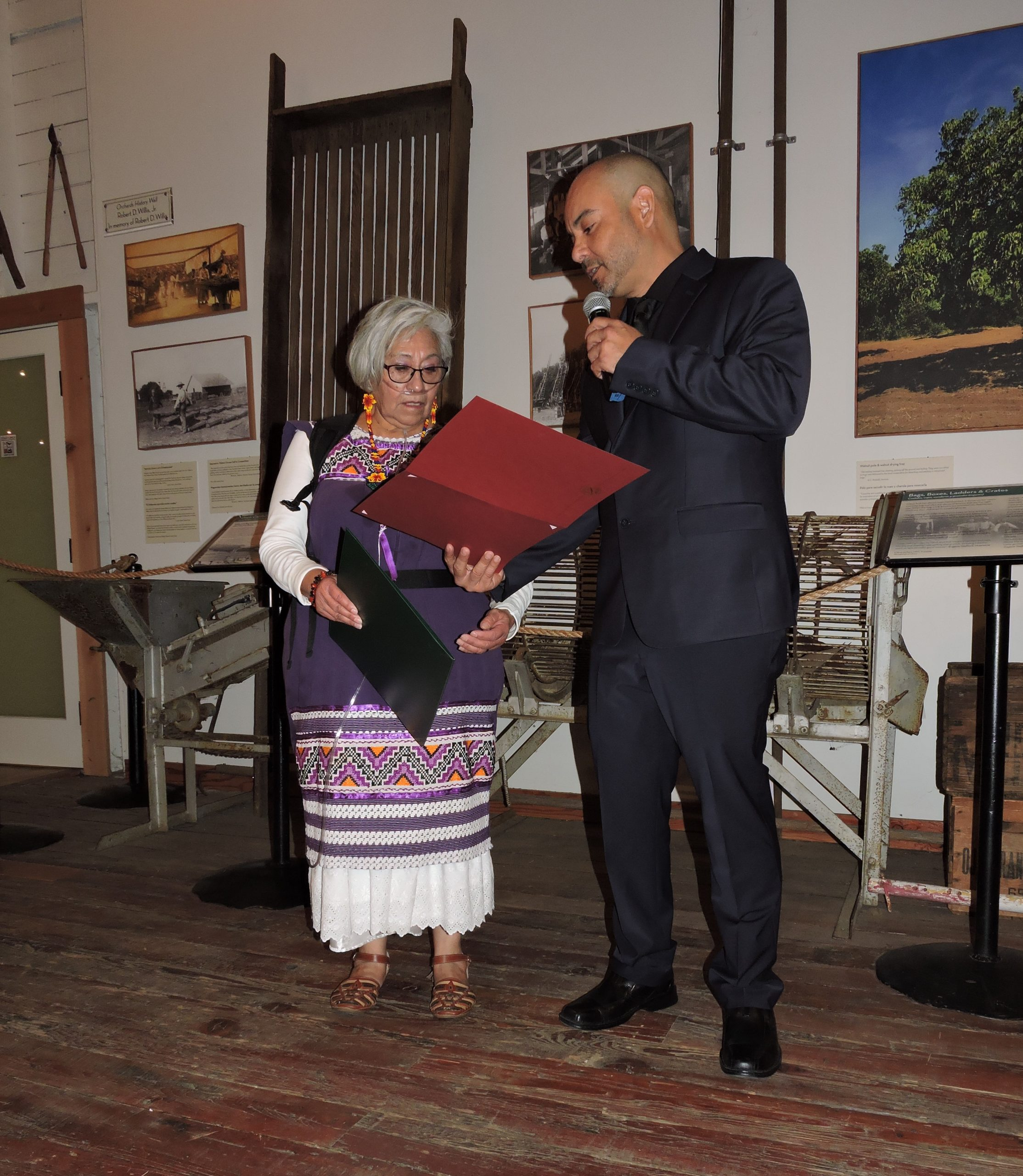 Current Ventura County Poet Laureate, Luzmaria Espinosa.