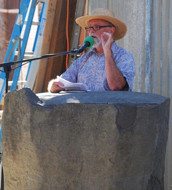 Former Ventura County Poet Laureate Phil Taggart