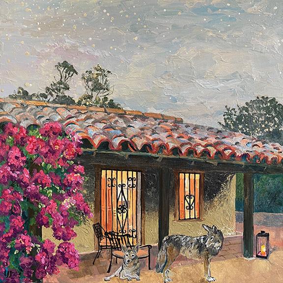 Twilight at Ortega Adobe